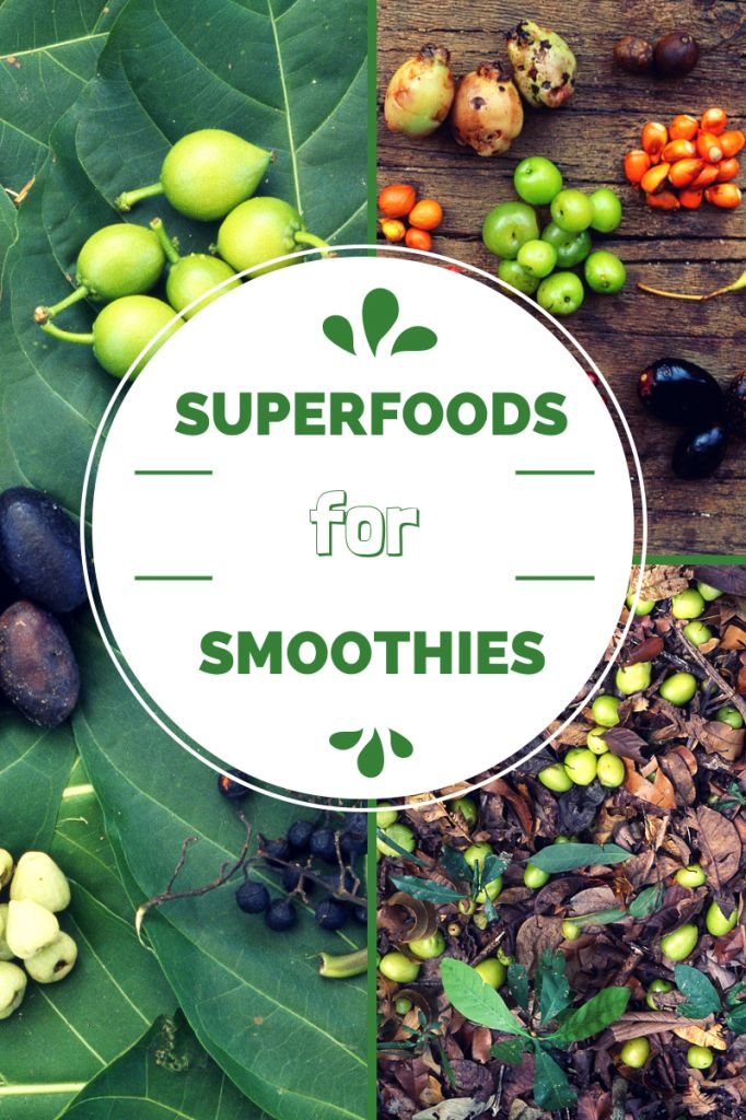 Looking for superfood ingredients to add to your smoothie? Here is the ultimate list of superfoods for smoothies.