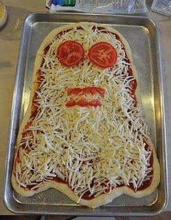 Con esta pizza triunfarás la noche de Halloween!