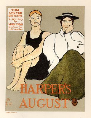 Edward Penfield - PM.35 - Harper's August
