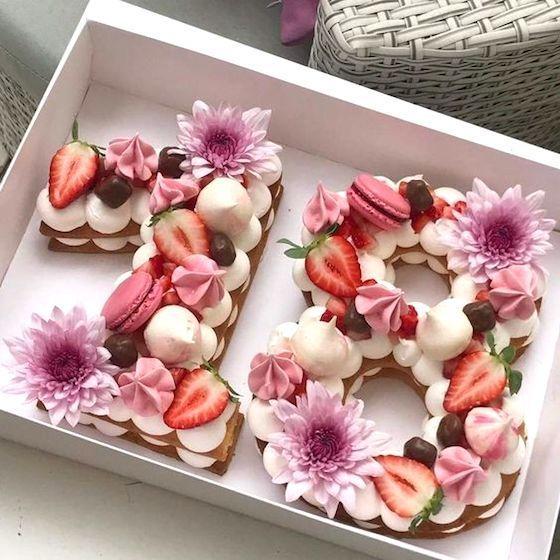 Oh mein Gott, ich bin verliebt in diesen wunderschönen Zahlenkuchen. Du bist ein wundervoller …   – Yummy Kuchen