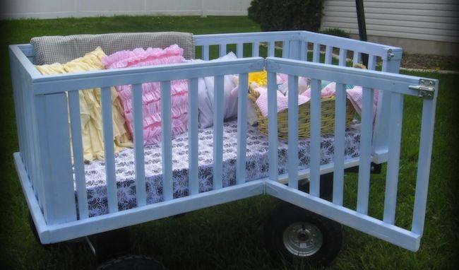 Repurposed Crib Ideas Bobs Am And I Am