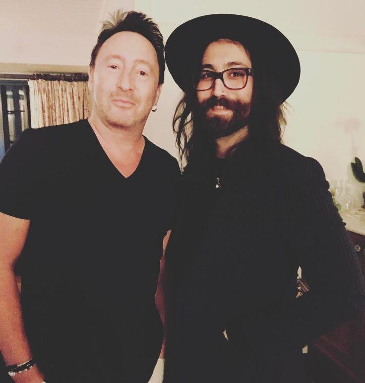 Julian & Sean Lennon♥️