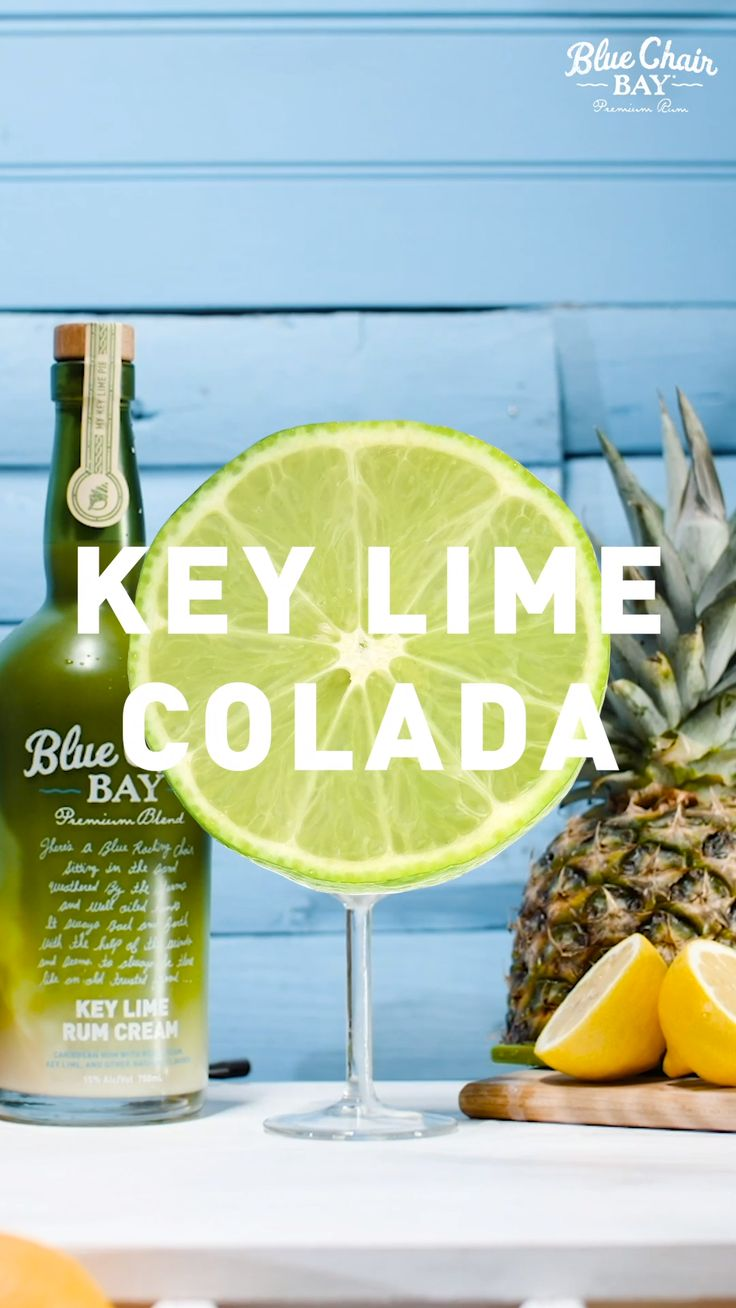 Key Lime Colada Video Recipe In 2019 Key Lime Rum