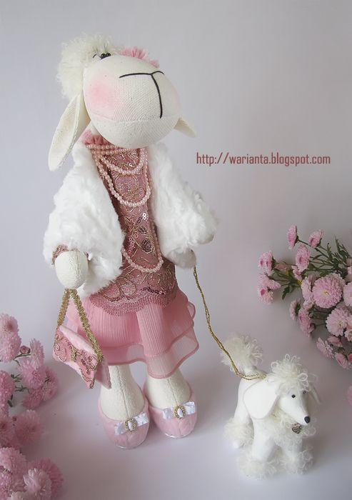 warianta. кукольная территория: овечки