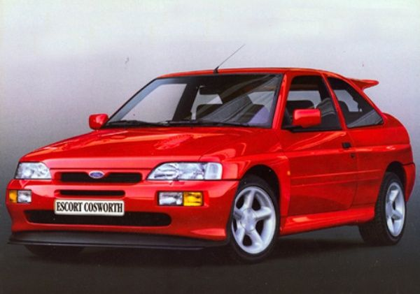The Ford Escort RS Cosworth had a 2.0L turbocharged engine that was designed by Cosworth. The Escort was one of the most loved cars used in the sport of Rally Cross. The car came stock with 225 hp but tuning companies have gotten the engine to produce over 1,000 hp.