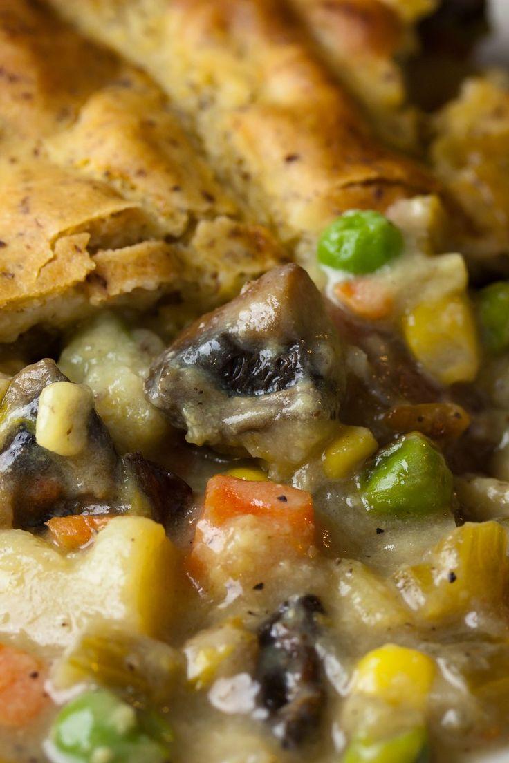 Delicious Vegetarian Pot Pie Dinner #Recipe