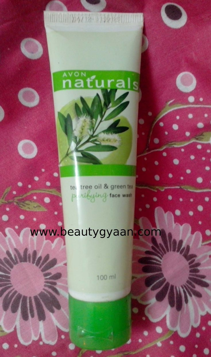 Avon Tea Tree & Green Tea Face Wash Review  Read full Review here  http://beautygyaan.com/index.php/avon-naturals-tea-tree-green-tea-face-wash-review/