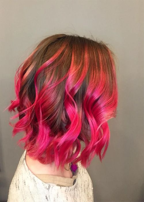 Rich Bright Pink Hair Color Ideas For Queens Hair Color Brands Cool Hair Color Hair Styles