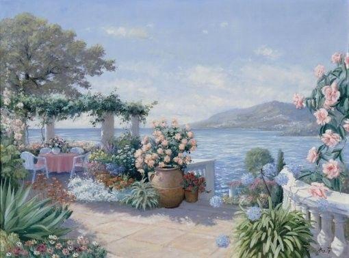Peter Motz: Mediterrán táj