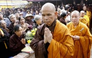 The World Bank and Thich Nhat Hanh say 'Omm … '