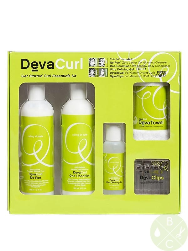 "DevaCurl Get Started Curl Essentials Kit - just ordered this. Can't wait to get it in the mail. So far I've been using DevaCurl ""No Poo"" cleansing & conditioning shampoo. Even though I don't have curly hair, my hair seems softer & less frizzy. DevaCurl is sulfate, paraben & silicone free. Whatever your hair type (esp. curly) you need to check out DevaCurl. Just google it."