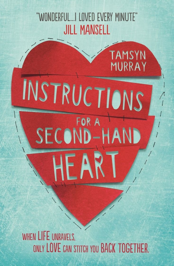 Instructions for a Second-hand Heart  New title for November