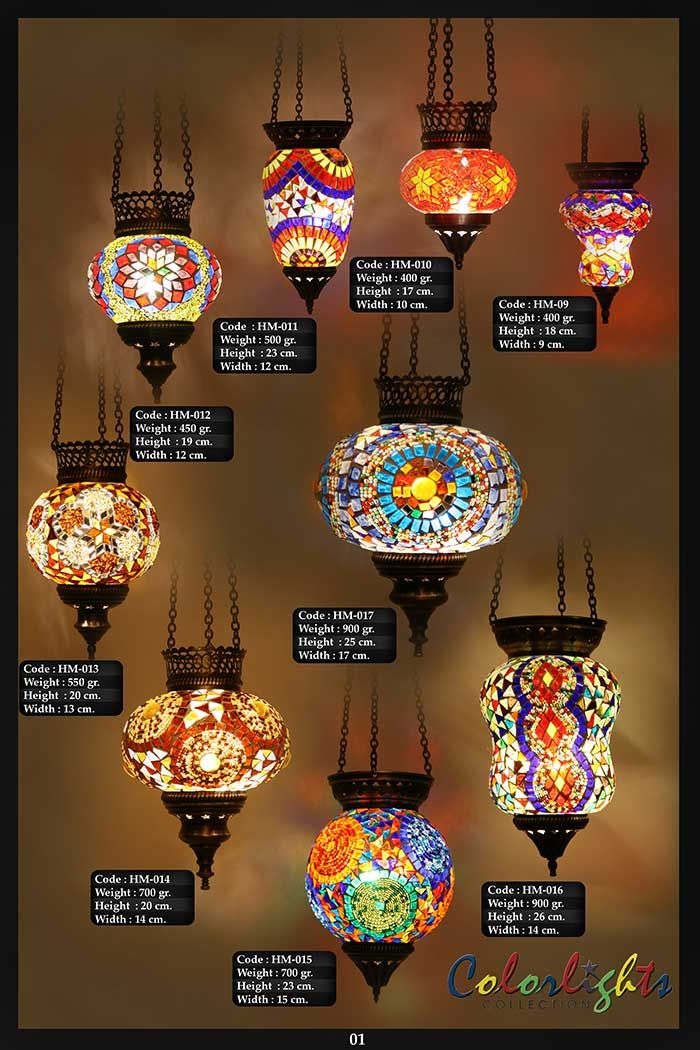 Mosaic Lamps | Ottoman Lamps | Turkish Lighting Manufacturer|Catalogs