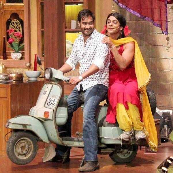 Funny moments on 'Comedy Nights with Kapil'