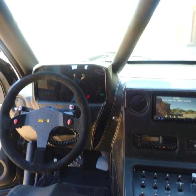 Chevy Silverado Luxury Trophy Prerunner custom interior