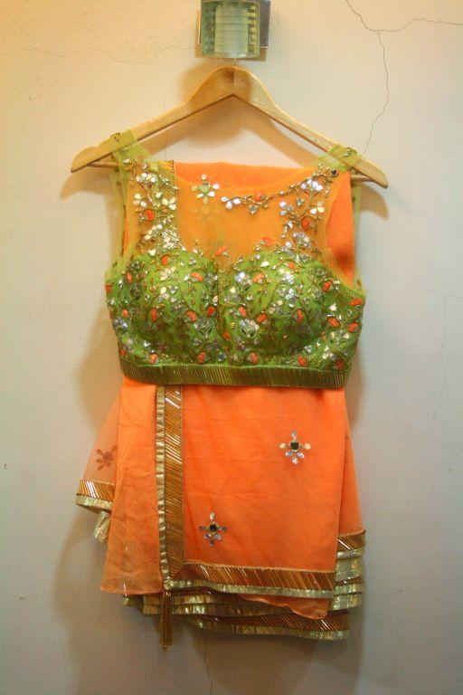 #OMG Beautiful #Saree & Choli Blouse by #Designer Arpita Mehta on her Site http://arpitamehta.in/