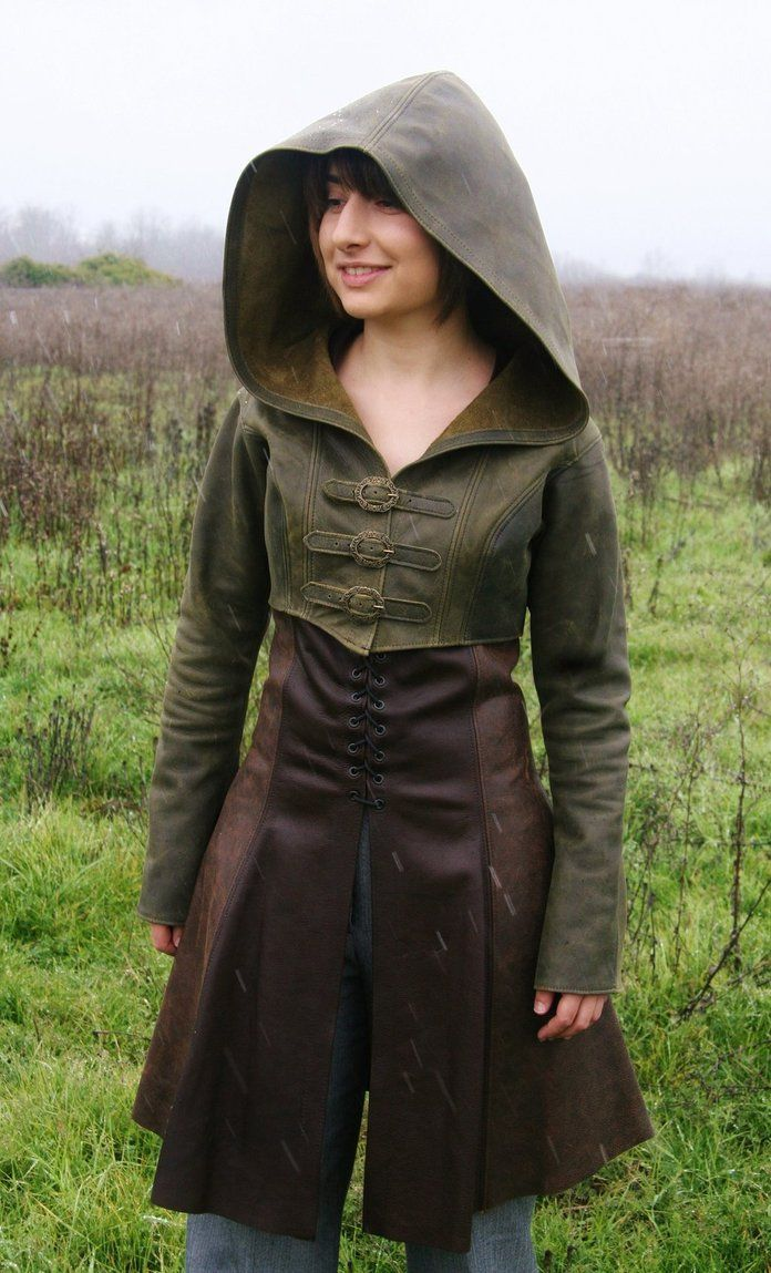 Dress and hooded bolero are separate pieces. - Bolero and Archer Dress by megatokyo-girl on DeviantArt