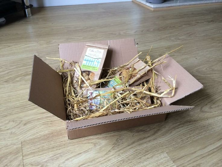 Our Handmade Dog Treats delivered in their Forage Box packaging.