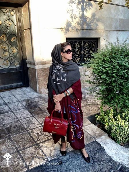 'The Tehran Times': Photographs Of Iranian Women Wrapping Up In Style - DesignTAXI.com