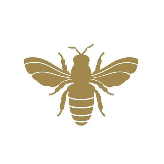 Home Design Ideas Buch: Bee Decal Gold Bee Napoleonic Bee Decal Set Bee Decor