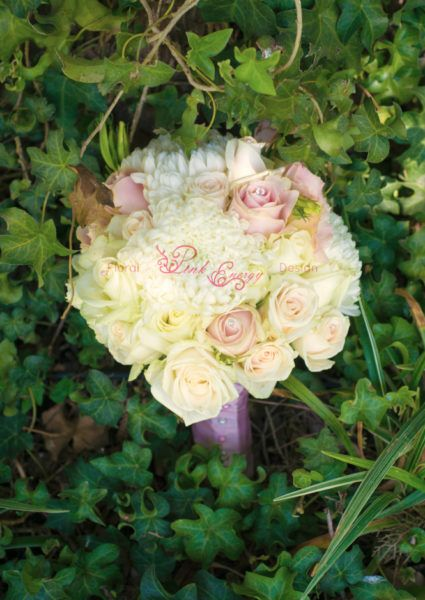 Pinks, creams and white - Floral Design  by www.pinkenergyfloraldesign.co.za