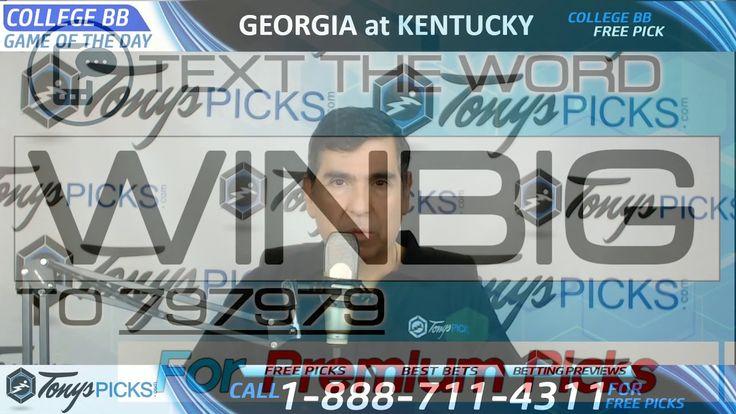 Georgia Bulldogs vs. Kentucky Wildcats Free NCAA Basketball Picks and Pr...