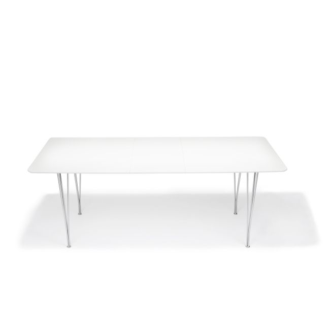 Arezzo Matbord Högblank vit - TheHome - Möbler på nätet