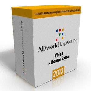 I video di ADworld Experience 2013