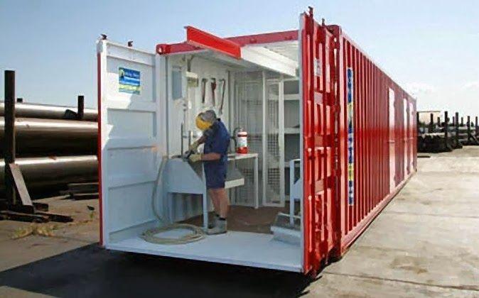 Container oficina funcional e pr tico container for Container oficina