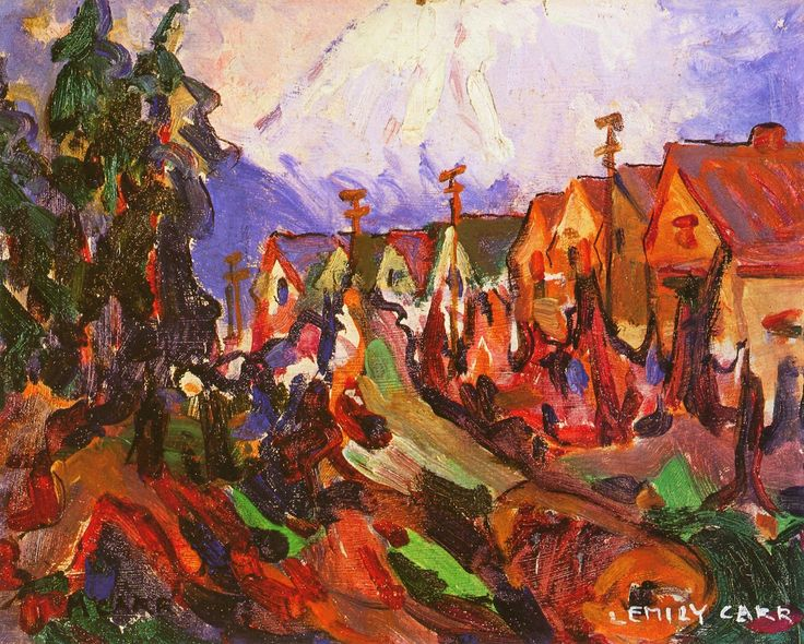 Vancouver Street by Emily Carr