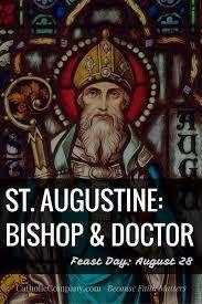 August 28: St Augustine