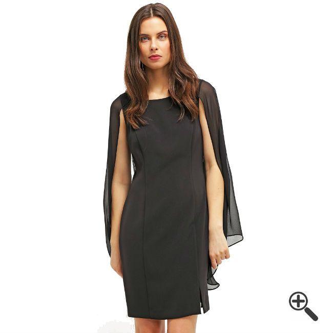 Schwarzes Kleid kombinieren + 3Schwarze Outfits für Gabi: http://www.fancybeast.de/schwarzes-kleid-kurz/ #Schwarz #Black #Kleider #Abendkleider #Dress #Outfit Schwarzes Kleid Kurz