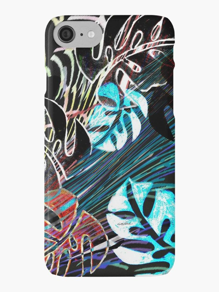 Wild West iPhone Cases by Polka Dot Studio, new version 8 available to order, #bright fun #tropical #abstract #leaves #island style, original #art on #tech #accessories. Coordinate with #travel #tote #bags, #fashion #apparel or #home #decor products. Great #gift ideas, original, trendy and contemporary cool!