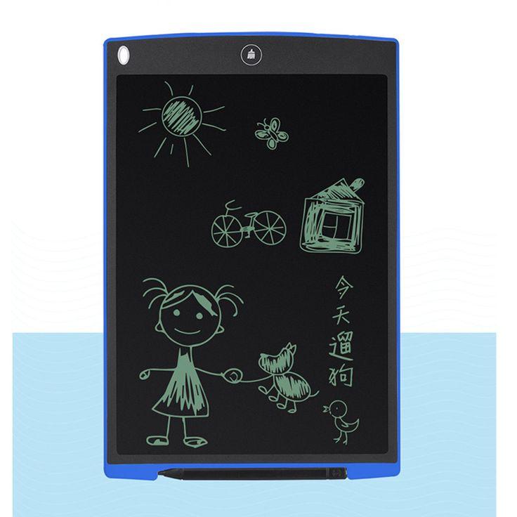 12 Pulgadas LCD Tablilla Digital Tableta de Dibujo Tablero de Escritura Pads Electrónicos Portátiles Tablet ultrafino tabla de Surf