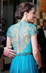 Kate Middleton in Jenny Packman- simply stunning: Duchess Of Cambridge, The Duchess, Katemiddleton, Kate Middleton, Lace Back, The Dresses, Hair, Princesses Kate, Jenny Packham