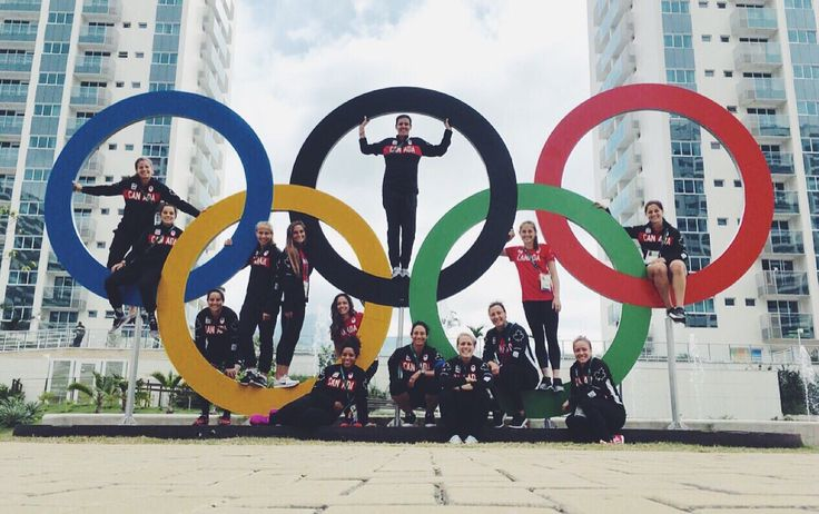 "janine-beckie: ""The CanWNT has made it to the Olympic Village! """