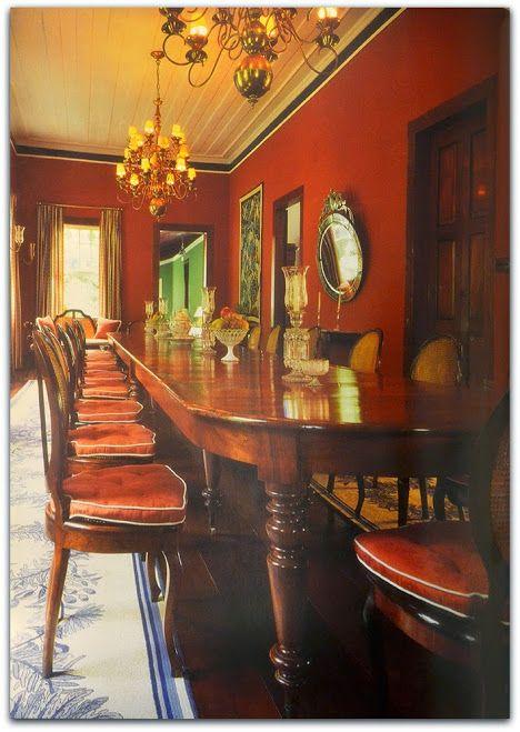 decoracao de sala longa:de Jantar da Fazenda São Fernando (Vassouras) A, sala de jantar longa