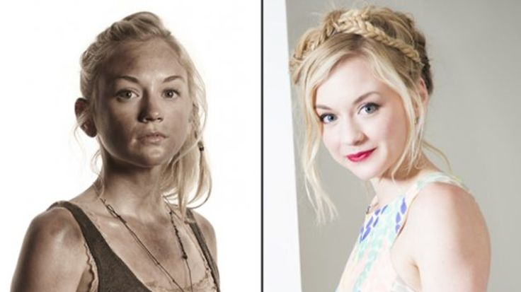 Emily Kinney Discusses Beth & Daryl & their age .