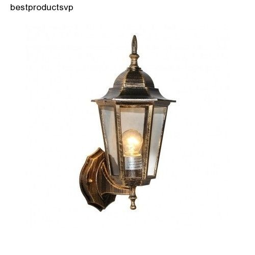 #Ebay #Outdoor #Wall #Porch #Light #Fixture #Sconce #Bronze #Lantern #Mount #Glass #Patio #Rustic #LNC #Traditional