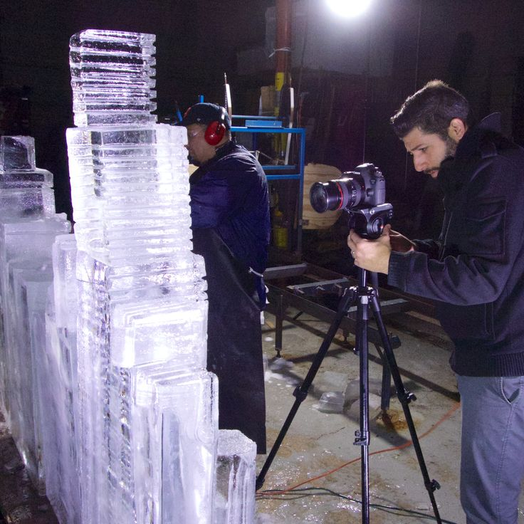Behind the Scenes at Nadeau's Ice Sculptures in Forest Park, IL ...