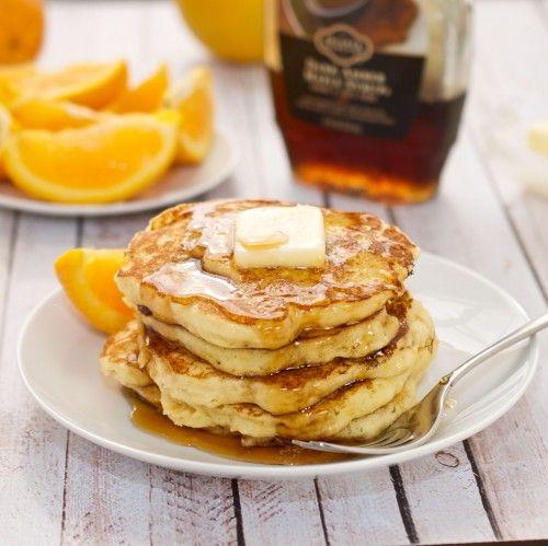 Orange Ricotta Pancakes {Sweet Pea's Kitchen}