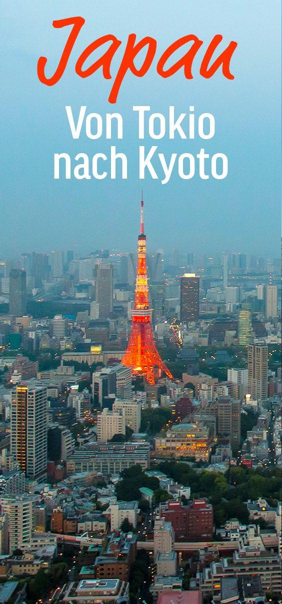 Tokio und Kyoto: Reisebericht Japan 2014