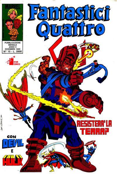 Cover for Fantastici Quattro (Edizioni Star Comics, 1988 series) #15