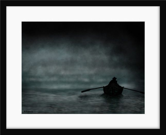 Il pescatore - Limited Edition Fine Art Print by Maria antonietta  Calabrese on thepixeler.