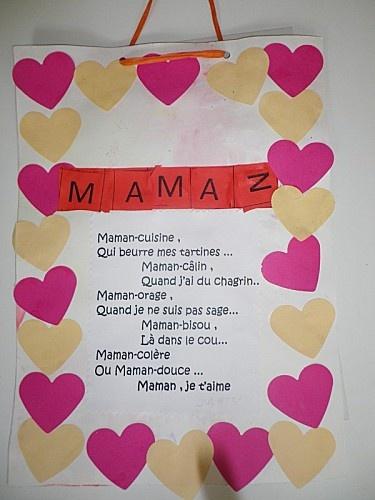 carte pour les mamans chez Sylvie G