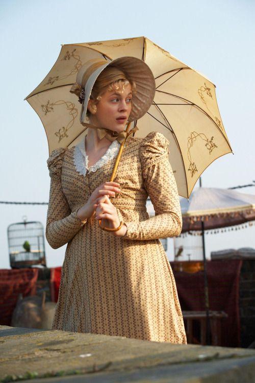 Same dress as appearing being worn by Mrs Weston in EMMA  movie.  Pet Meagles - Georgia King in Little Dorrit, set in c. 1826 (TV mini-series 2008).