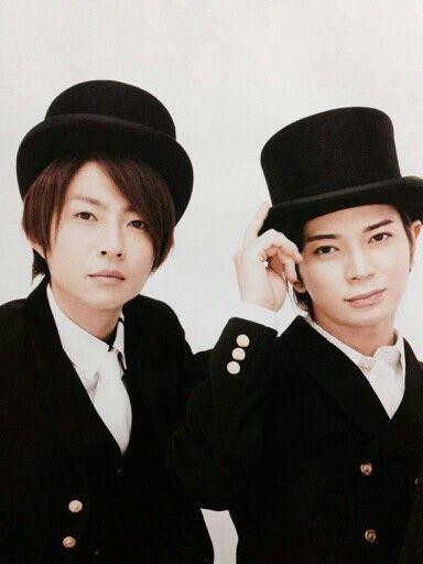 Aiba Masaki and Matsumoto Jun