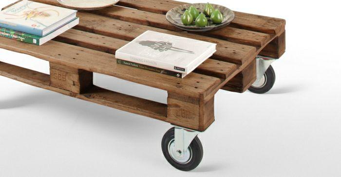 Tisch aus paletten 33 wunderbare ideen for Europaletten mobel tisch