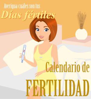 Esta calendario de fertilidad te permite calcular cuáles serán los días más fértiles de tus próximos tres ciclos.