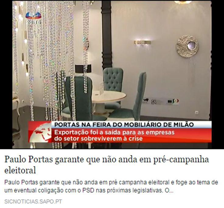 Castro Lighting at Euroluce, Milan smile emoticon Hall 13 | M15-N14  http://sicnoticias.sapo.pt/pais/2015-04-14-Paulo-Portas-garante-que-nao-anda-em-pre-campanha-eleitoral